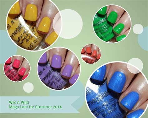 nail polish color for june 2014 what nail varnish for summer 2014 wet n wild mega last