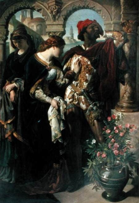 othello desdemona  emilia daniel maclise  art