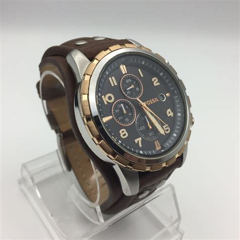 Fossil Fs4545 For fossil fs4545 dean chronograph mens 177 2016 new