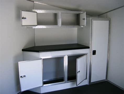 v nose trailer cabinets v nose cabinets