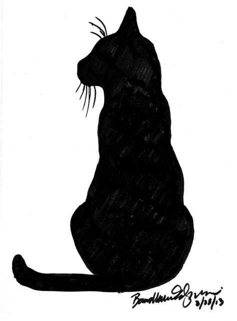 cat silhouette tattoo best 25 black cat images ideas on black cat