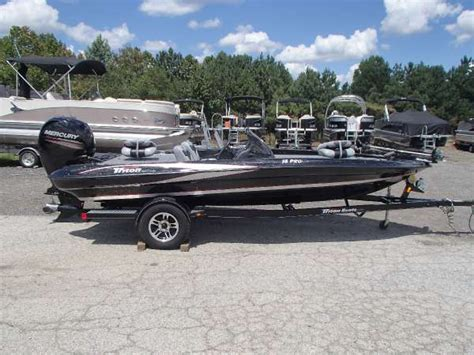 used triton bass boats for sale 2013 used triton boats 18 pro series bass boat for sale