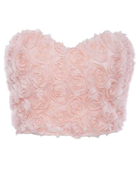 shirt blouse pink blouse roses tank top 3d flower