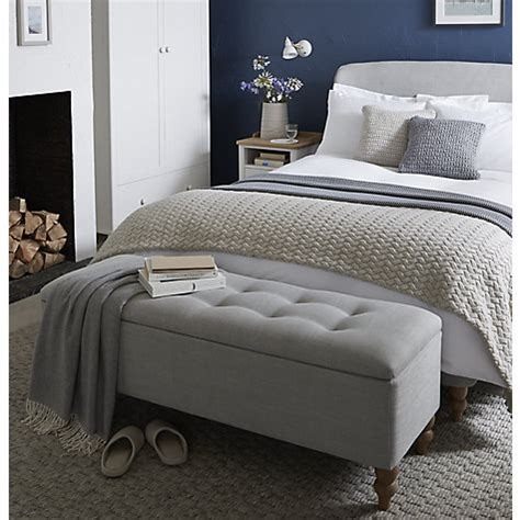 ottoman in front of bed buy john lewis croft collection skye ottoman blanket box