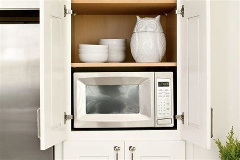 appliance hideaway creative kitchen cabinet ideas
