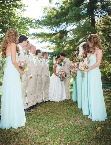 Coral & Mint Wedding   Skyler   Courtney   The Pink Bride