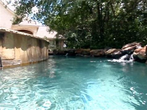 Backyard Lazy River Ii Youtube Lazy River Pools For Your Backyard