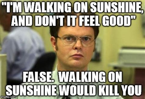 I M Walking The Floor You by Dwight Schrute Meme Imgflip