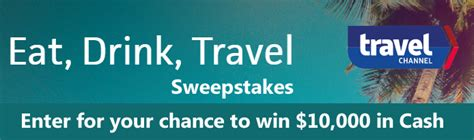 travel channel eat drink travel sweeps coupons and deals savingsmania - Travel Channel Eat Drink Travel Sweepstakes