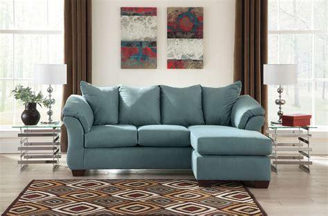 Darcy Sky Sofa Chaise From Ashley 7500618 Coleman Furniture Darcy Sofa