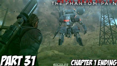 Metal Gear Solid 5 Phantom Pain Gameplay 60fps