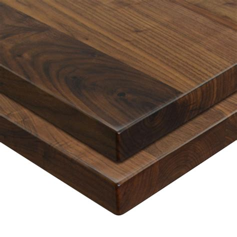 Black Walnut Solid Wood Wide Plank Table Top Wtt400