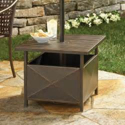 Patio Umbrella Side Table Umbrella Side Table Patio