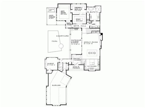 eplans prairie house plan hill country neo prairie style