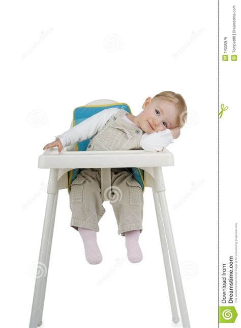 Child With White Stool by Child On Child S Stool Royalty Free Stock Image Image