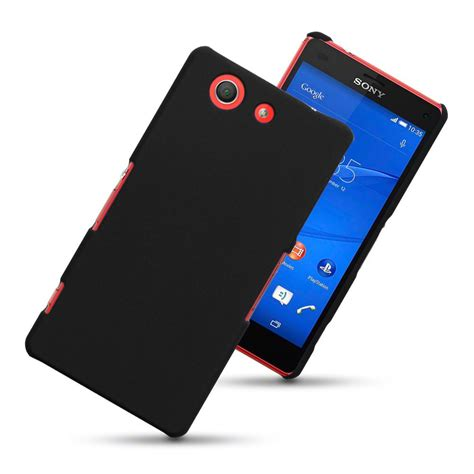 design cover sony xperia z3 compact hard shell case sony xperia z3 compact black