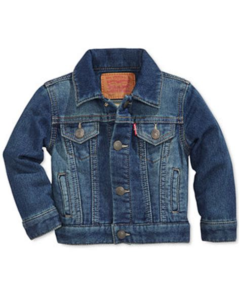 kids coats jackets for boys girls macys levi s 174 baby boys trucker denim jacket coats jackets