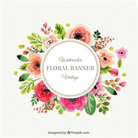 cornici fiori fiori carino cornice in stile vintage scaricare vettori