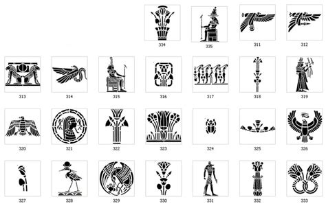 printable egyptian alphabet pin printable egyptian symbols pictures on pinterest