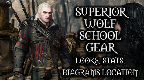 witcher 3 wolf location school gear the witcher 3 wild hunt superior wolf school gear