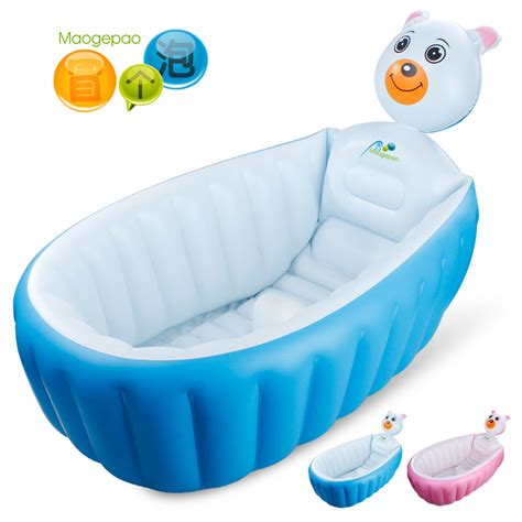 infant inflatable bathtub thickening inflatable baby bathtub baby bathtub newborn