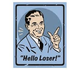 hilarous dorm decor hello loser big quot l quot humor wall tin