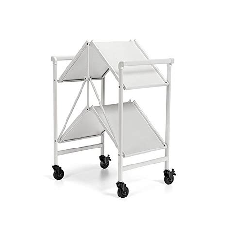 Dining Room Serving Cart by Bar Serving Cart Outdoor Folding Rolling Wheels Portable