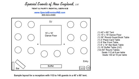 event layout diagram round table layout sesigncorp