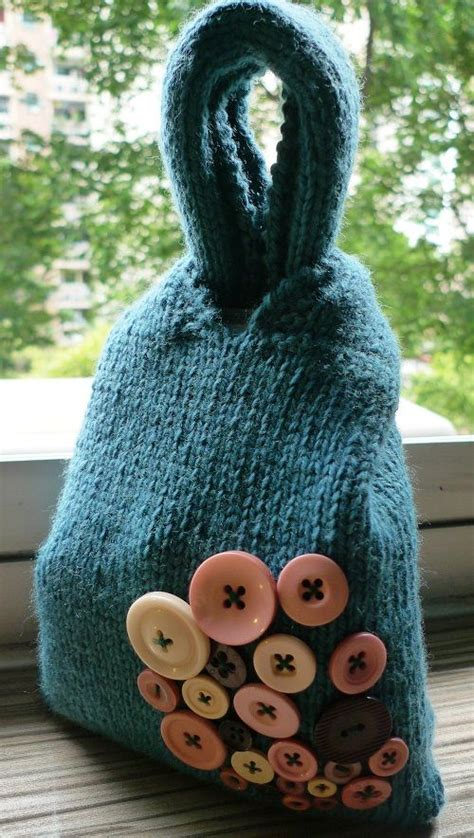 Knitting pattern for Japanese Knot Bag   wool crafts