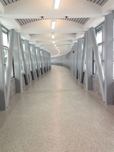 Stonhard Flooring by Stonhard S Seamless Flooring Solutions For Covered Walkways