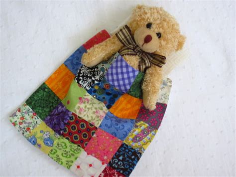 Plush Quilt by Burden With Handmade Quilt And Poem Plush Jointed