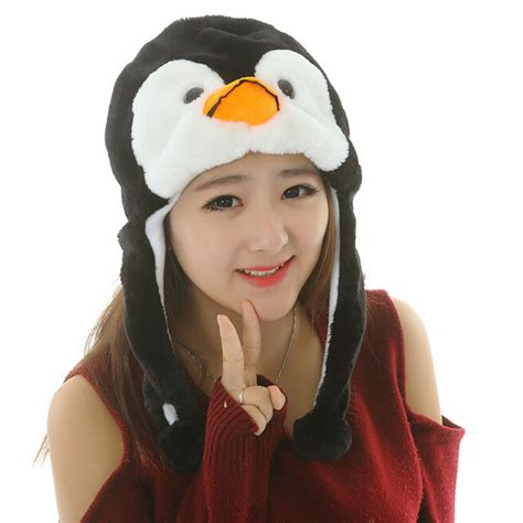 Earmuff Mickey Mouse B beanie animal plush costume winter fur cap