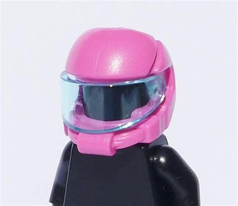 Part Lego Minifigures Headgear Helmet xlego headgear helmet space pink headgear lego