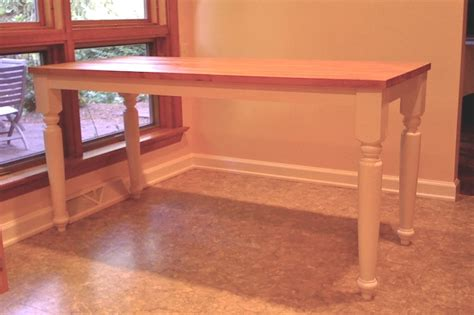 how to make a butcher block table kitchen table butcher block rustic butcher block table
