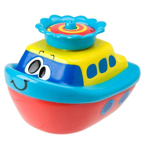 bathtub toy boats fountain float spray boat tub toy educational toys planet