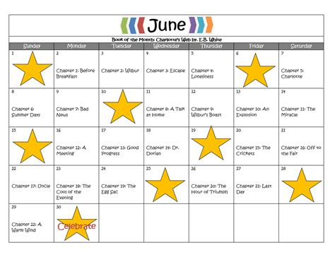summer calendar template frith stride academy