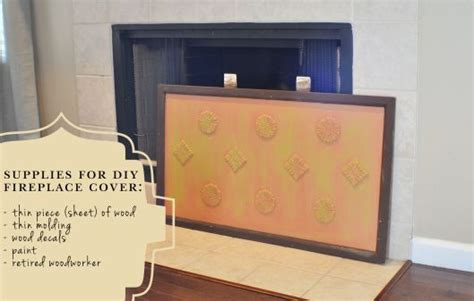diy fireplace cover up diy fireplace cover d i y i pinterest