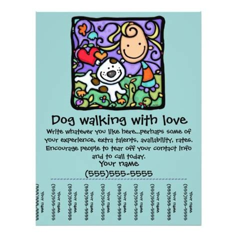 littlegirlie walk sitting tear sheet flyer