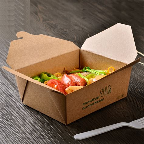 Take Away Lunchbox Lunch Box disposable paper lunch boxes promotion shop for