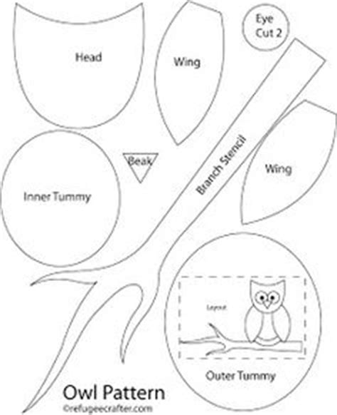 printable felt owl pattern owl board time on pinterest owl applique owl hat and