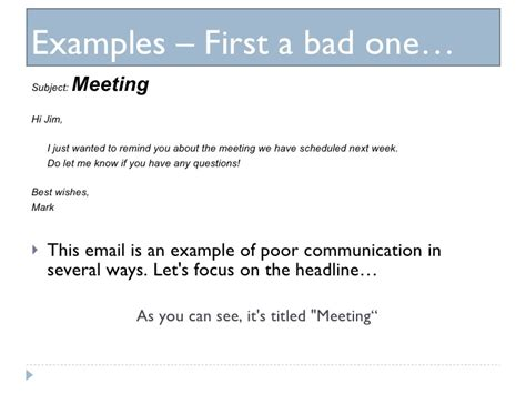 best wishes email effective email presentation 102109