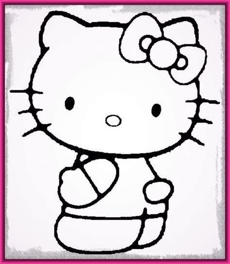 imagenes bonitas para dibujar de cumpleaños dibujos faciles para dibujar de hello kitty archivos