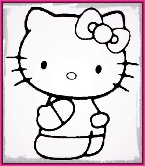 imagenes realistas para dibujar faciles dibujos faciles para dibujar de hello kitty archivos