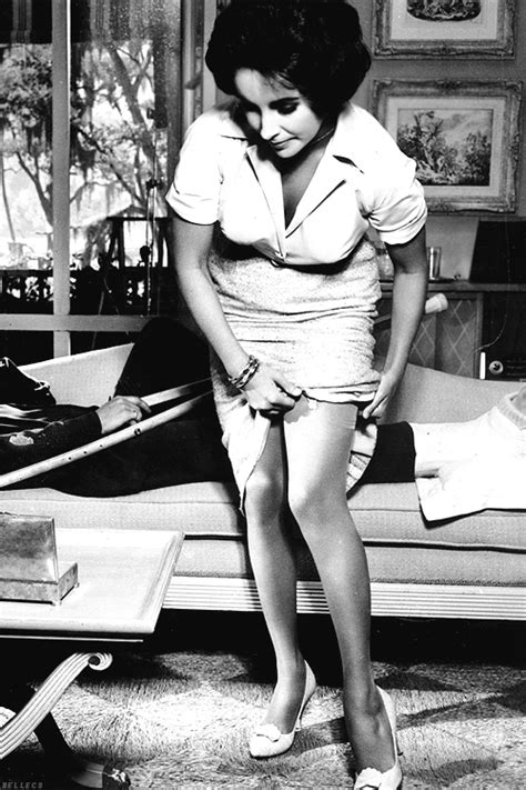 Natalie Wood Stockings   Reblogged from bellecs Posted by