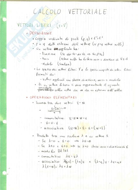 dispense algebra lineare fondamenti di informatica i linguaggio c dispense