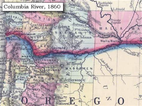 map of oregon washington border the volcanoes of lewis and clark mount jefferson summary