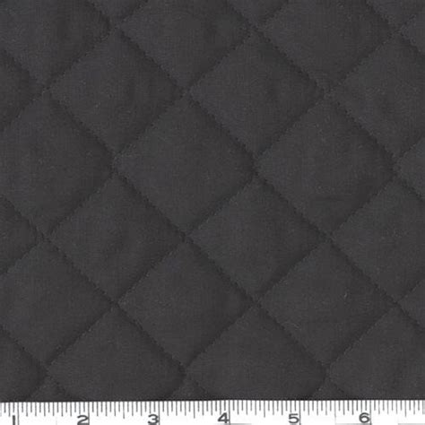 Black Quilted Fabric By The Yard by Sided Quilted Broadcloth Black Discount Designer
