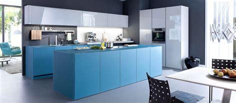 desain dapur nuansa biru gambar desain dapur warna biru contoh hu