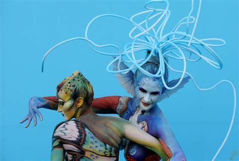 world bodypainting festival asia world painting festival asia zimbio