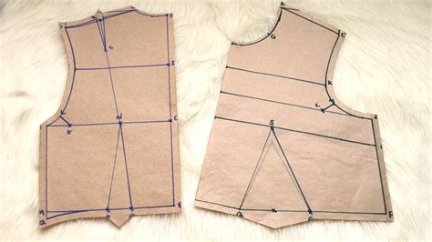 bodice pattern making youtube how to draft an easy bodice sloper tutorial elewa blog